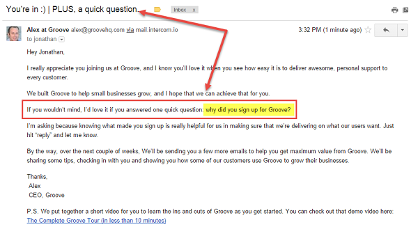Email-Question
