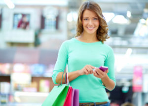 SMS shopping
