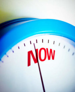 Time is now!