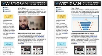 Wistia Video in Email A/B Test