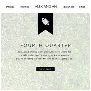 Alex&Ani Jewelry newsletter