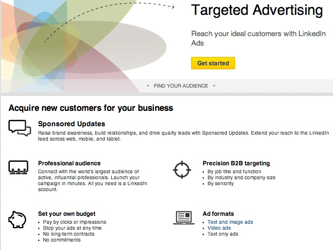 LinkedIn Ads Targeted Self Service Ads - Post Local Ads Backpage
