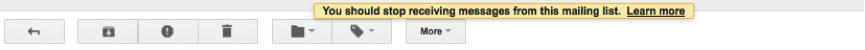 Gmail's new Auto-unsubscribe button