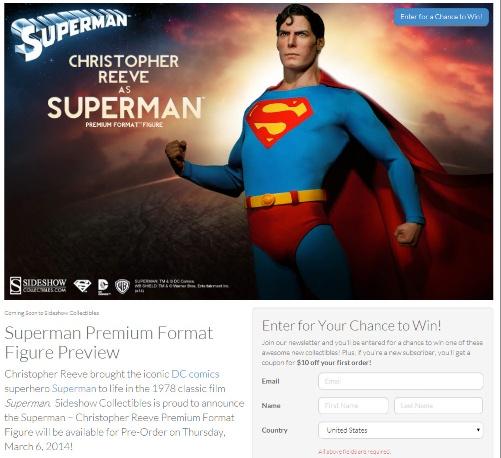 Superman contest