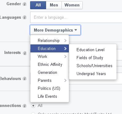 More Demographics