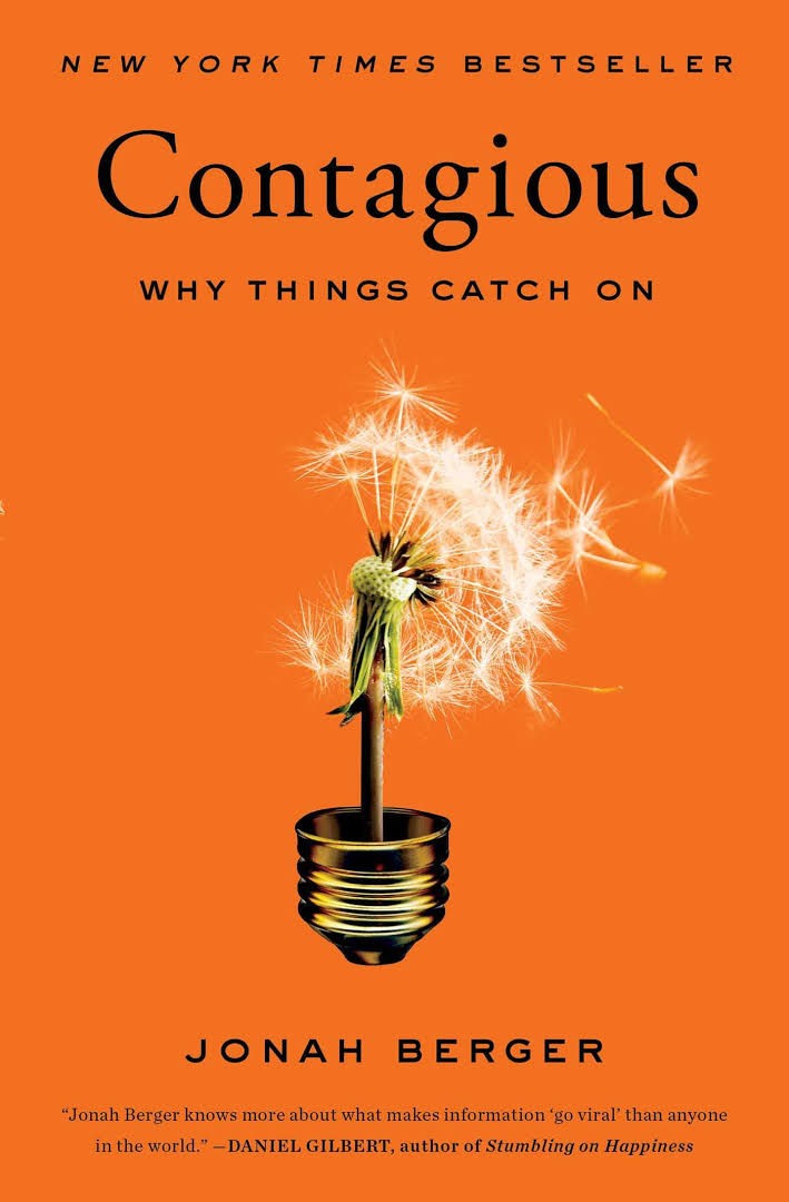 Persuasion book for Solopreneur - Contagious Why Things Catch On Book by Jonah Berger
