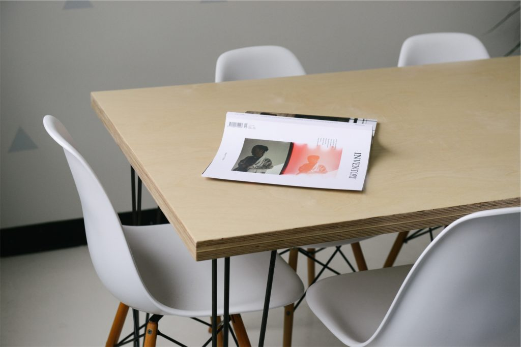 Email marketing campaign inspiration – book on table