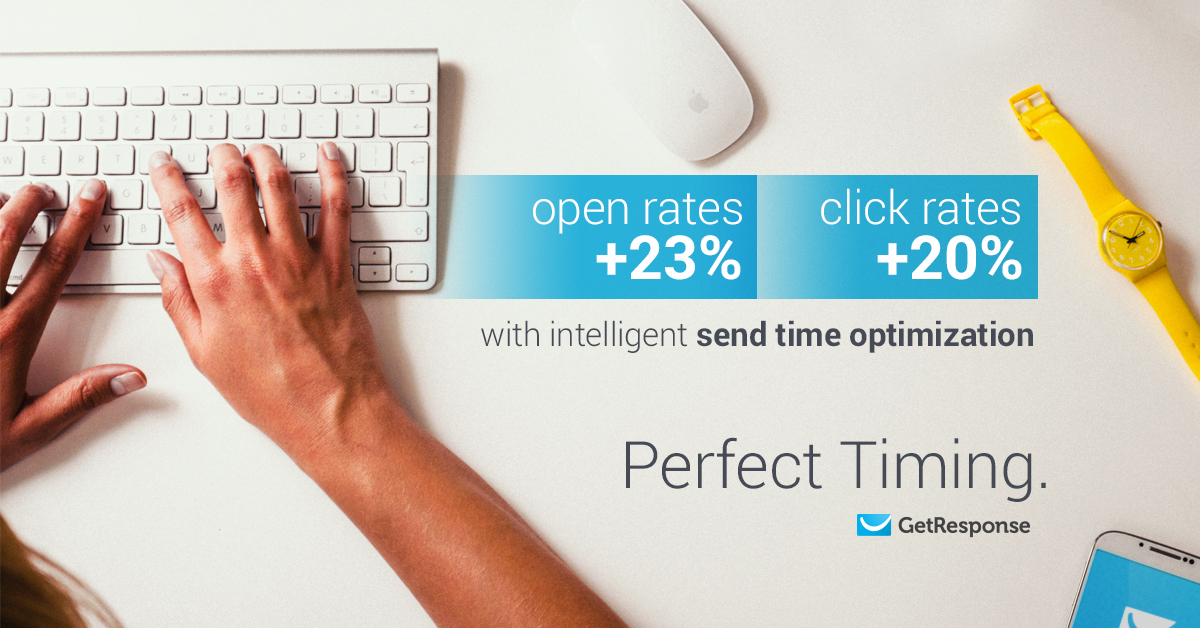 Perfect timing - send emails at the most perfect time