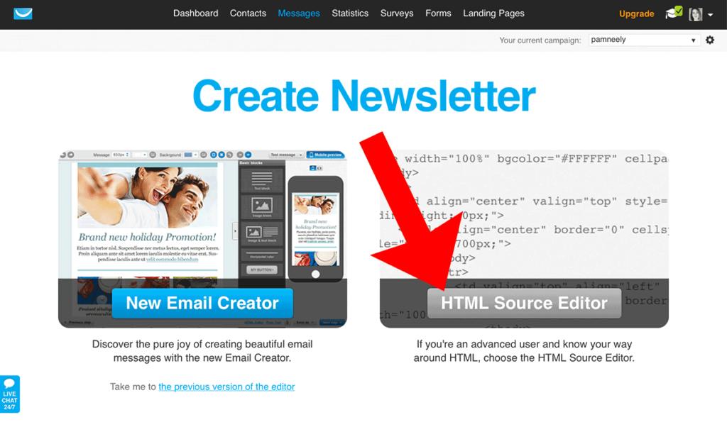 CreateNewsletter