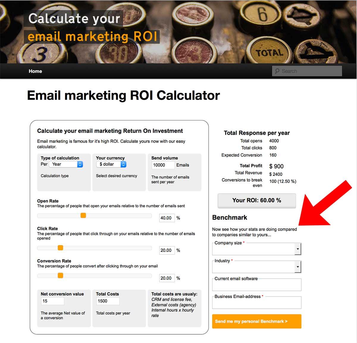 EmailMarketingCalculator