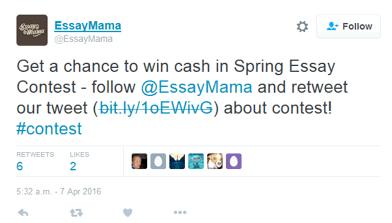 Tweet EssayMama