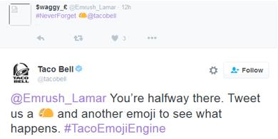 Tweet Taco Bell
