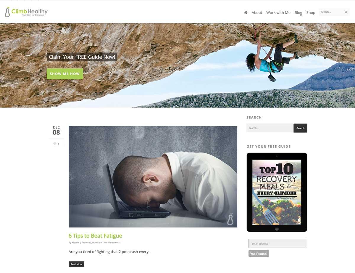 ClimbHealthy