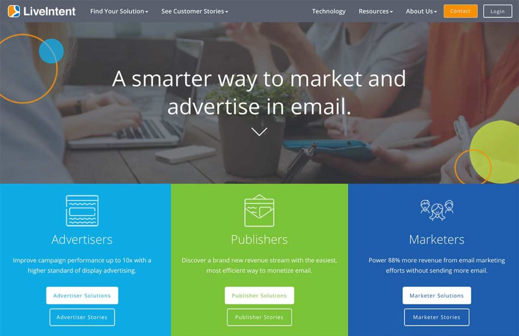 LiveIntent - tool to sell ads in emails