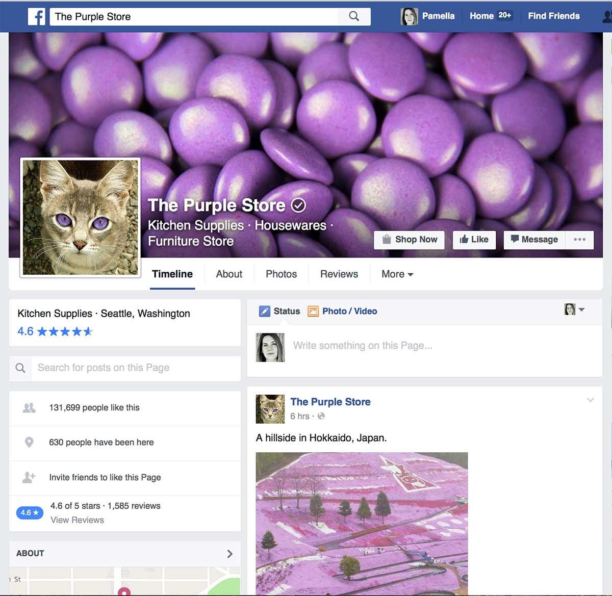 ThePurpleStoreFacebook