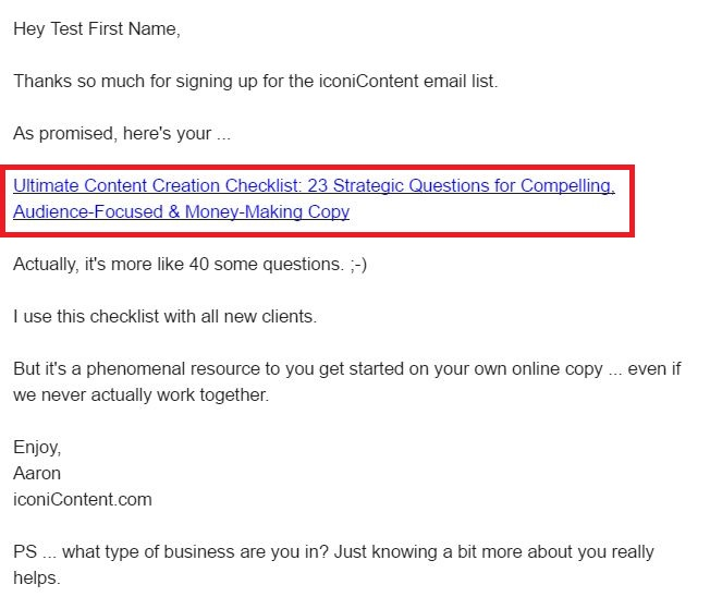 email-link-obvious