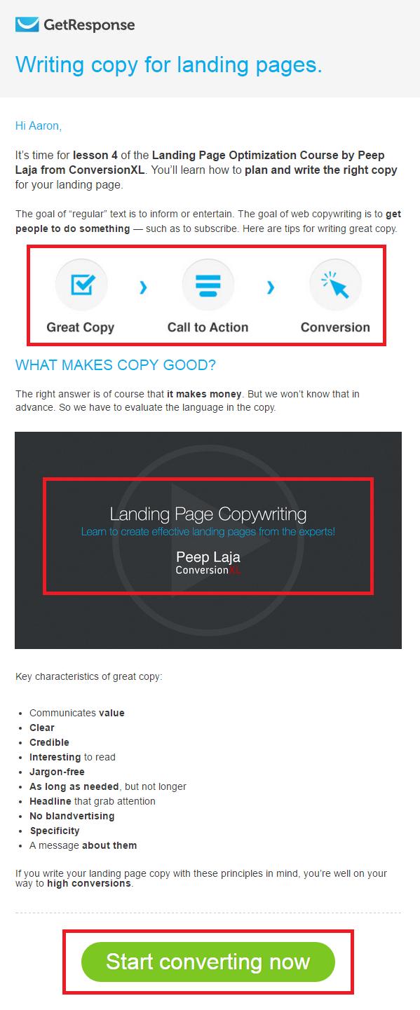 get-response-landing-page-email
