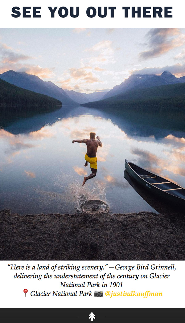 Huckberry Instagram photos ending their email newsletter