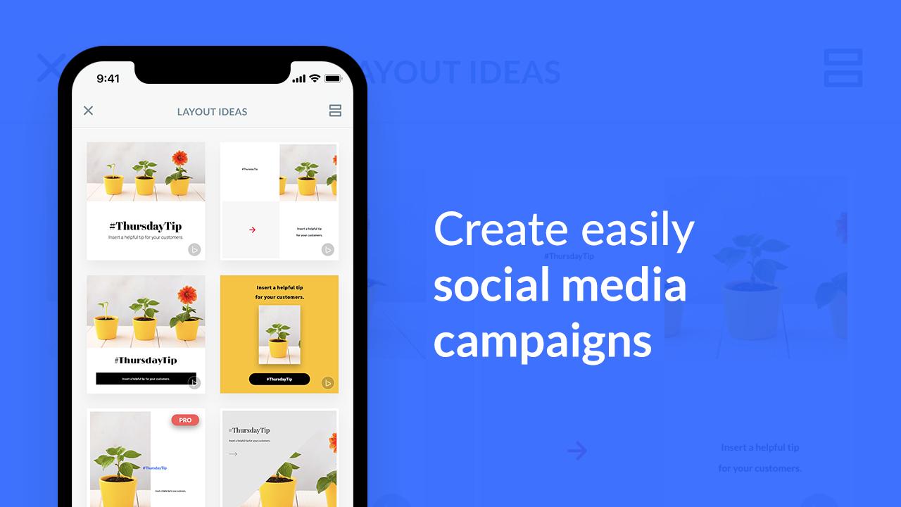 social media campaigns beam