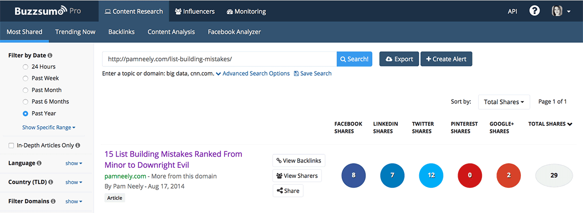BuzzSumo's free share count tool is considered to be one of the most accurate sources of Twitter share counts.