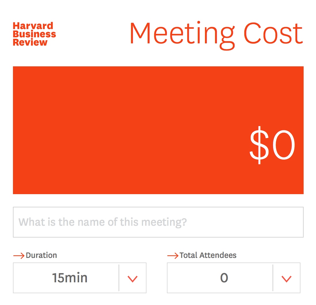 MeetingCostCalculator