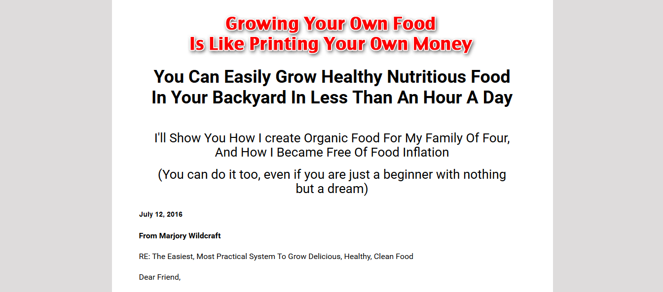 grow your groceries