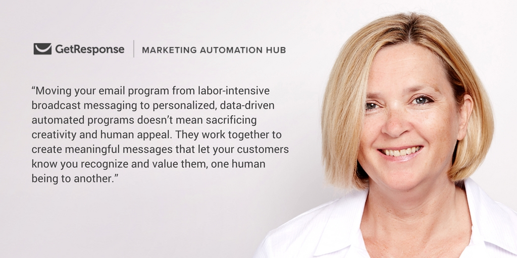 Marketing automation highlights: Moving your email program from labor-intensive broadcast messaging to personalized, data-driven automated programs doesn't mean sacrificing creativity and human appeal. They work together to create meaningful messages that let your customers know you recognize and value them, one human being to another.