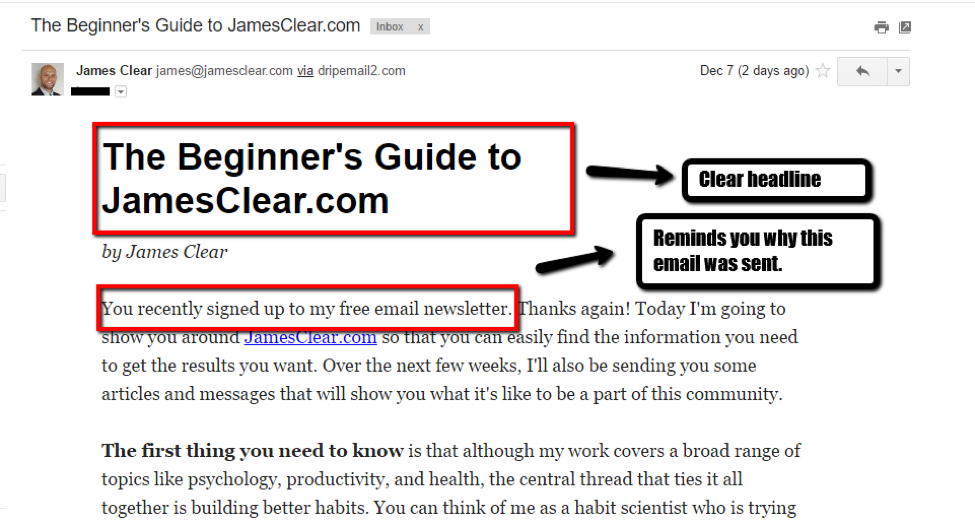 emails every blogger needs