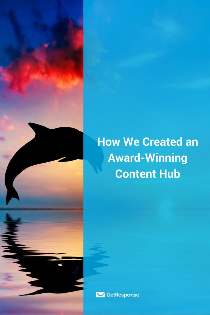 award-winning content hub