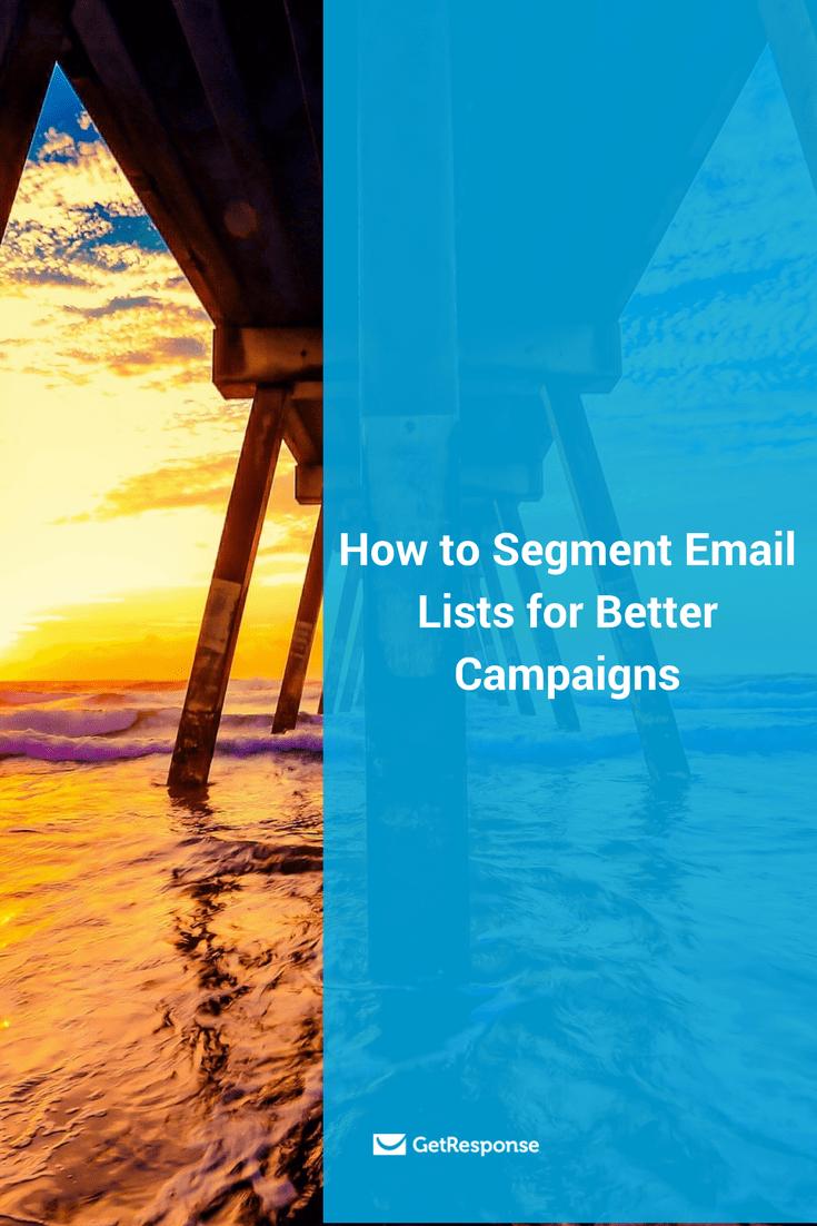 segment email lists