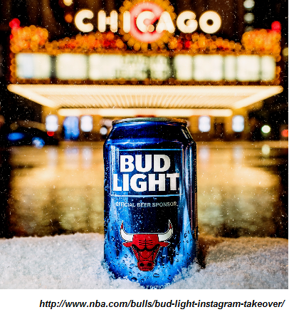 social media takeover chicago bud light example