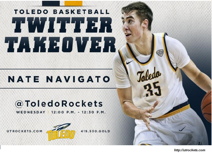 social media takeover toledo rockets twitter takeover example