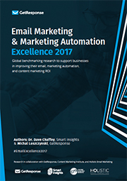 email marketing and marketing automation excellence report 2017