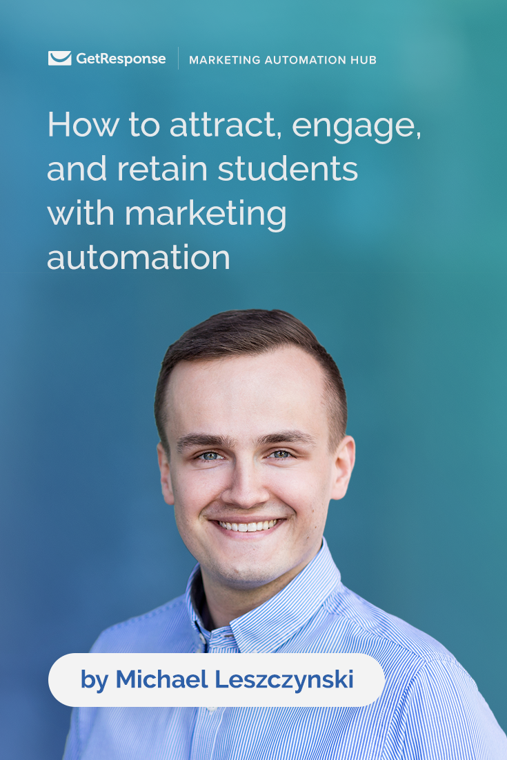 marketing automation higher education email