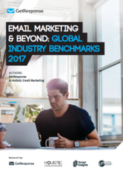 email marketing & beyond global industry benchmarks 2017 report