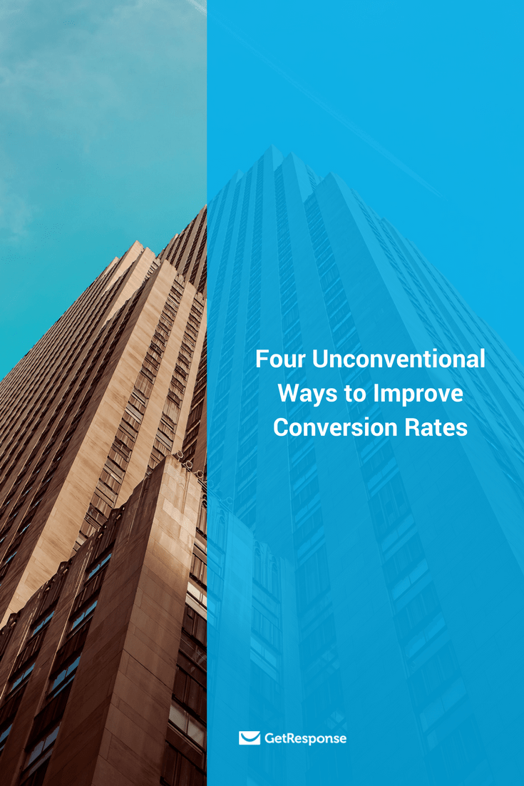 unconventional ways to improve conversion rates