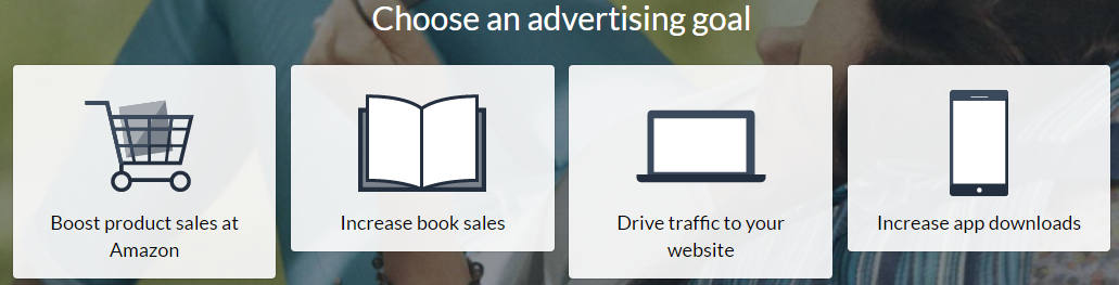 advertise on amazon