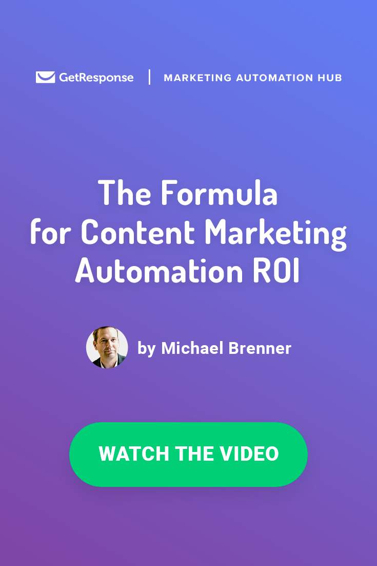 calculating ROI for content marketing automation