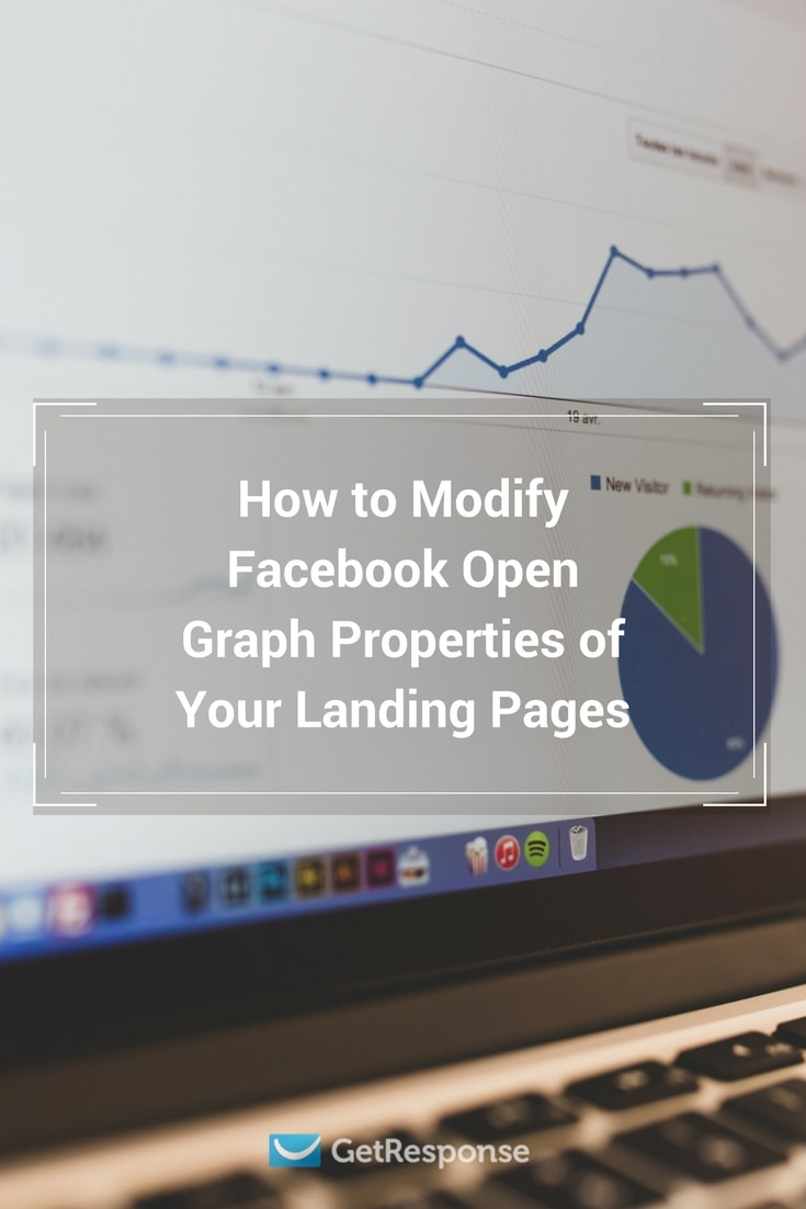 use facebook open graph settings to make sure Facebook displays your landing page properly
