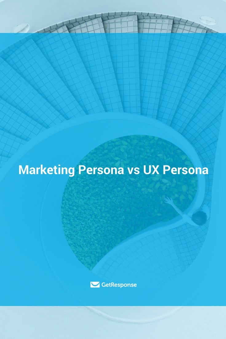 a marketing persona differs from a UX persona