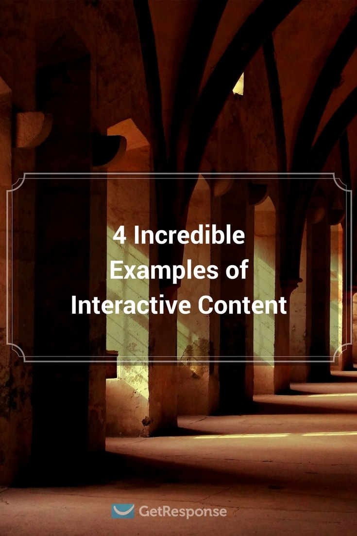4 incredible examples of Interactive content