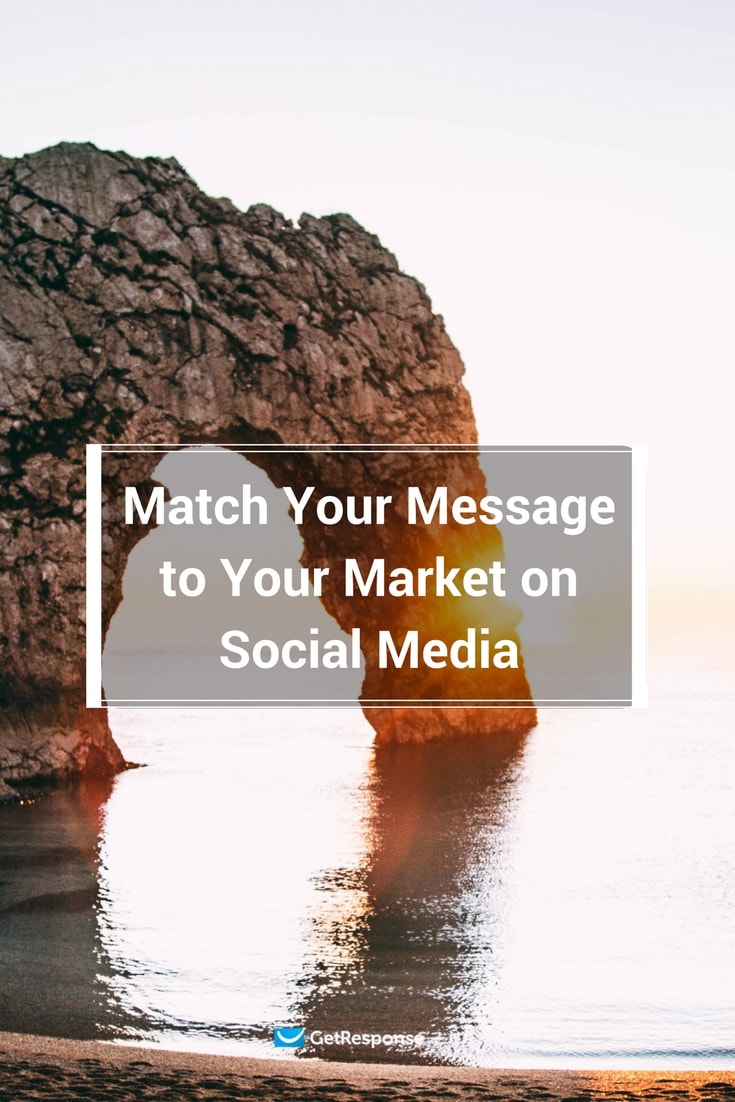 match your message to your market