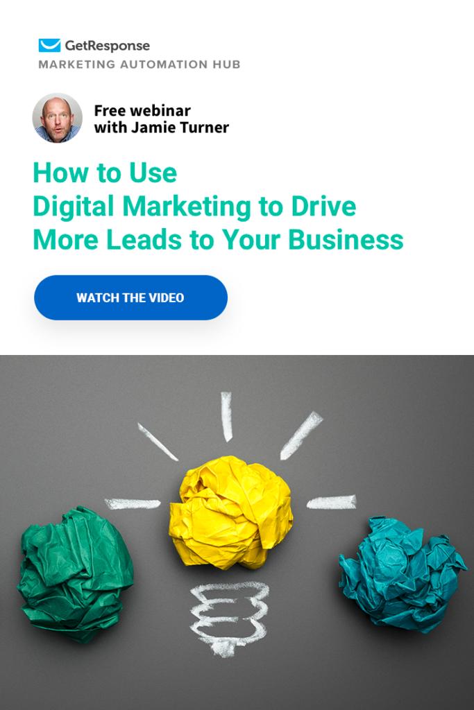 use digital marketing to drive leads
