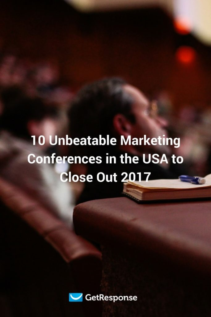 unbeatable marketing conferences in the USA for the rest of 2017