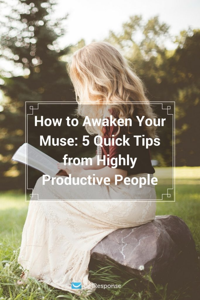 awake your muse with productivity tips