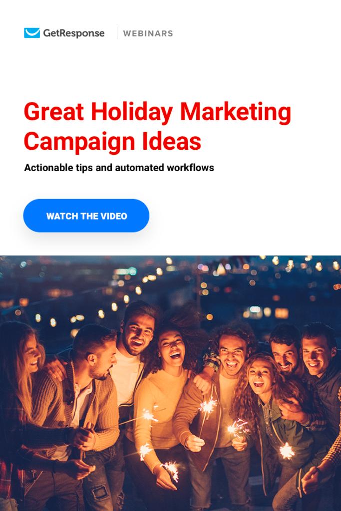 holiday marketing webinar
