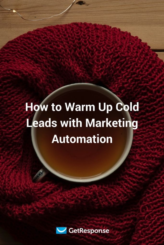 use marketing automation to warm up cold leads
