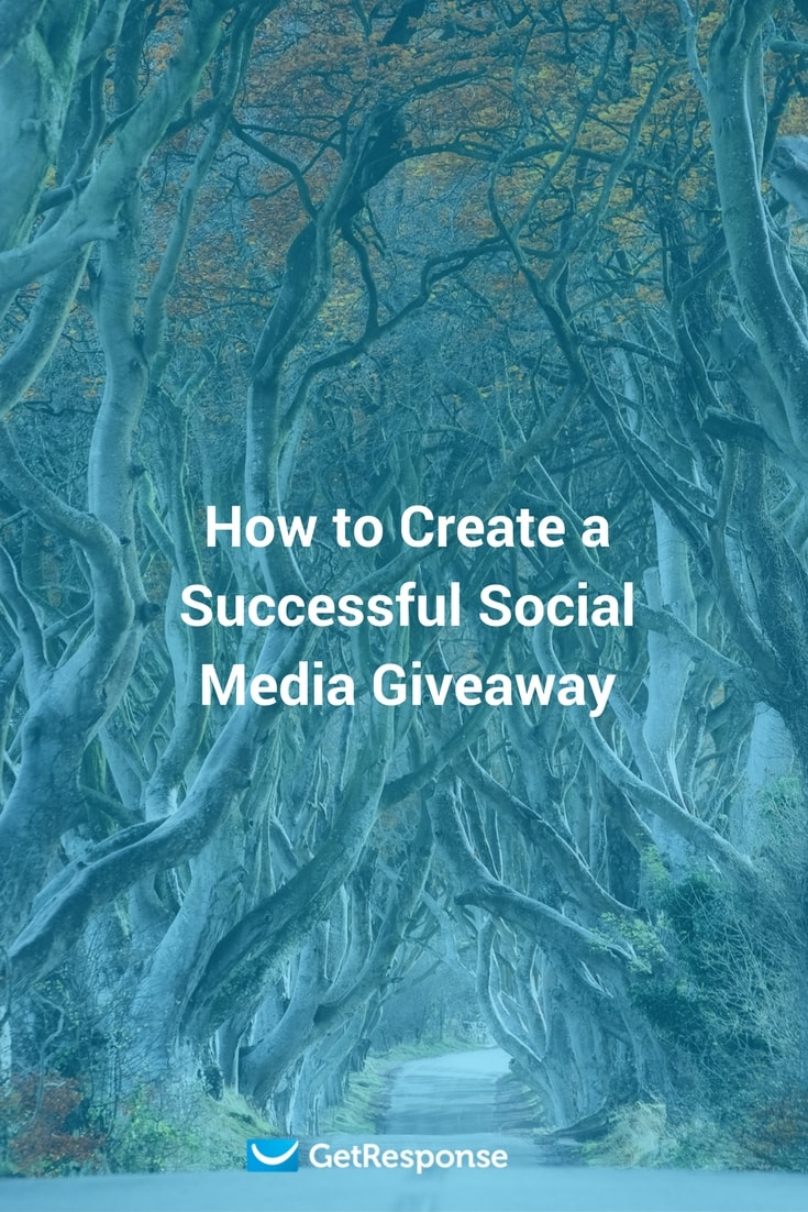 how to create a social media giveaway