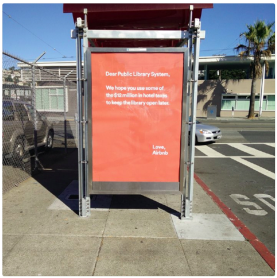 airbnb advertising