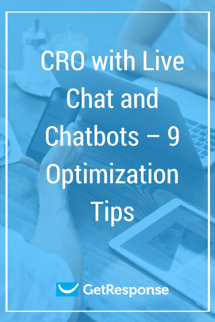CRO with Live Chat and Chatbots